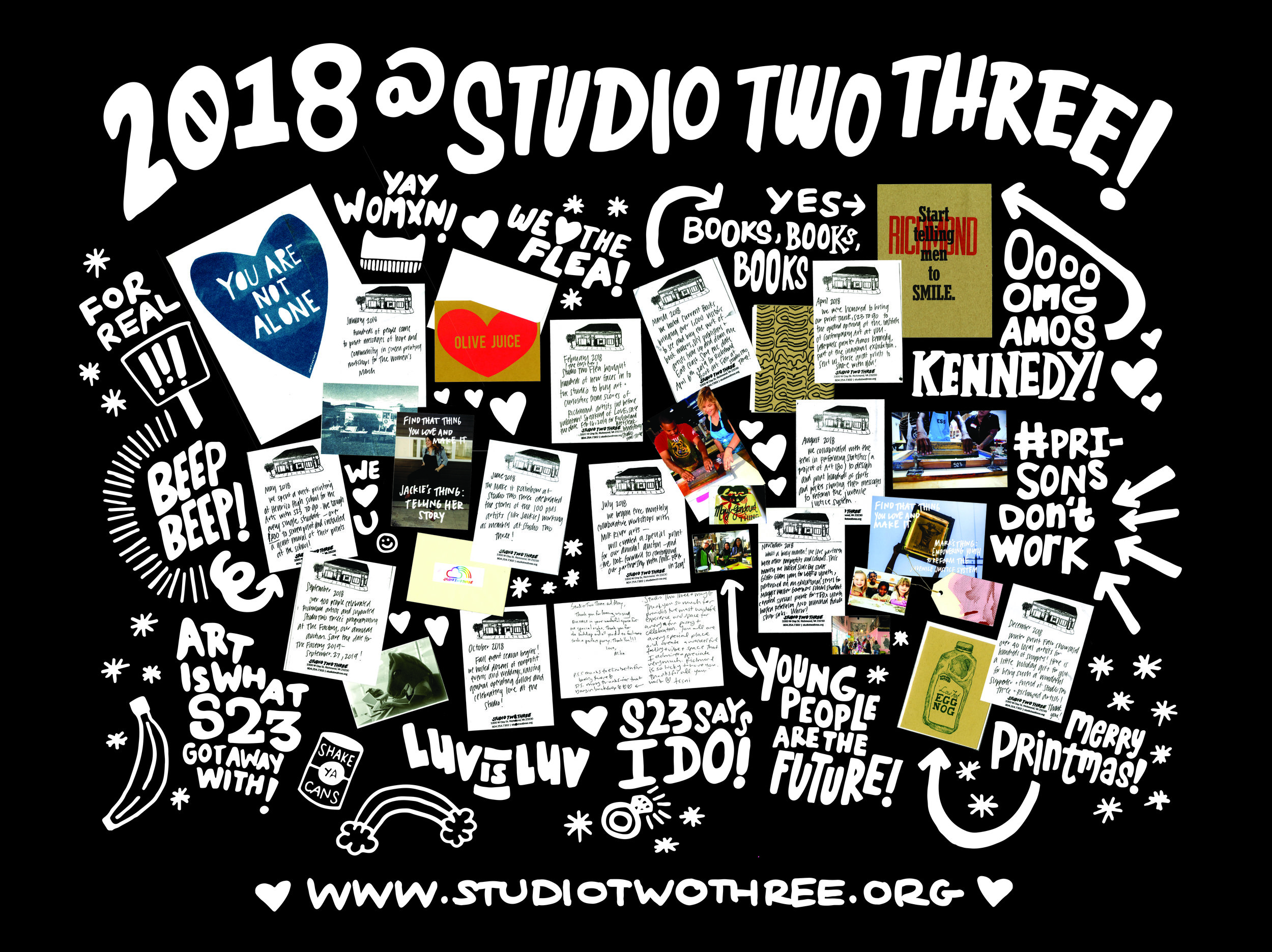 Studio Two Three | nonprofit | Richmond Virginia | Annual Report