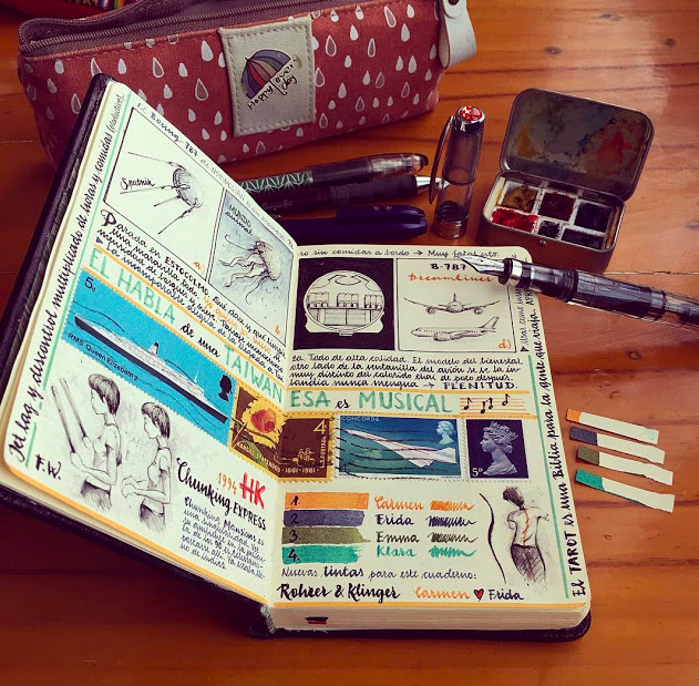 Bookmaking | Studio Two Three | sketchbooks | art class | Richmond Virginia