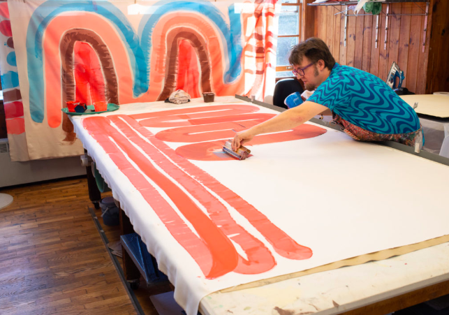 Studio Two Three | screen printing workshop | Richmond Virginia
