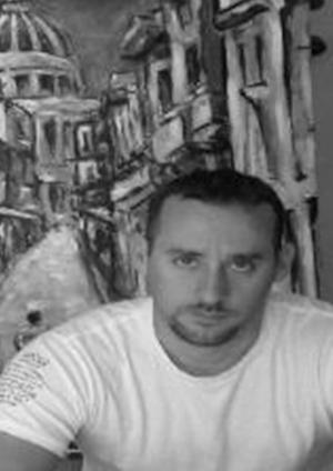 Damien Cruz        Havana,  Cuba  Damien's paintings reflect his experiences and emotions growing up in Havana, Cuba. His works have been featured internationally.