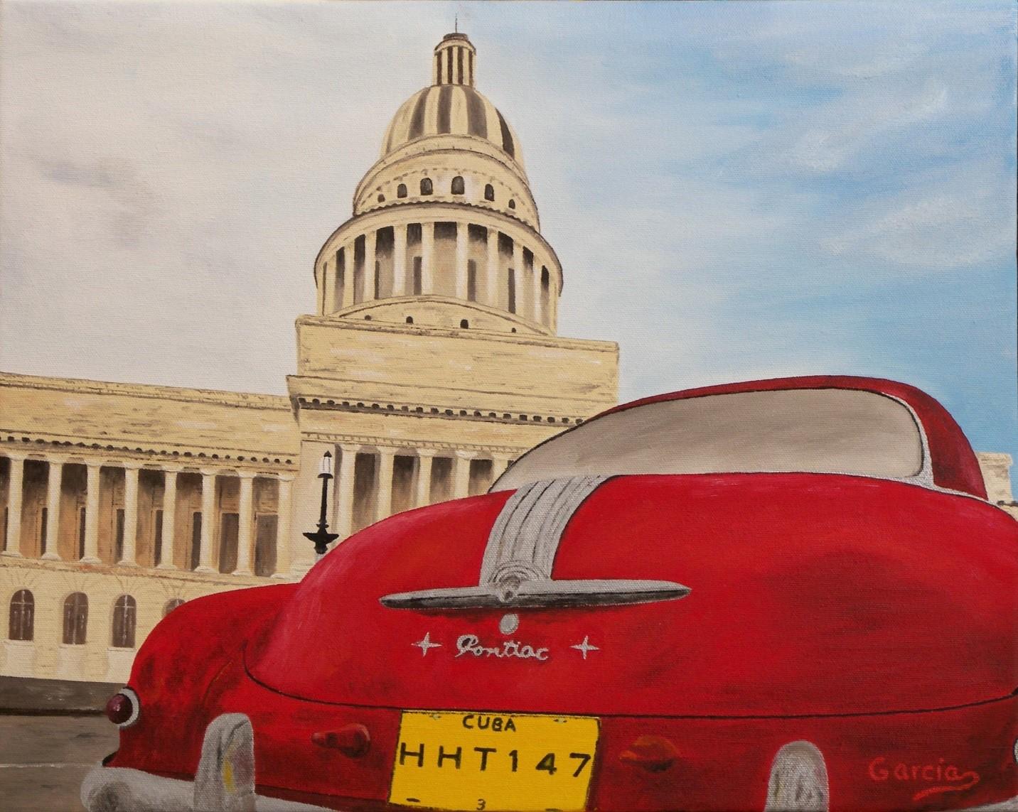 """Vintage Cuba III 16"""" x 20"""""""
