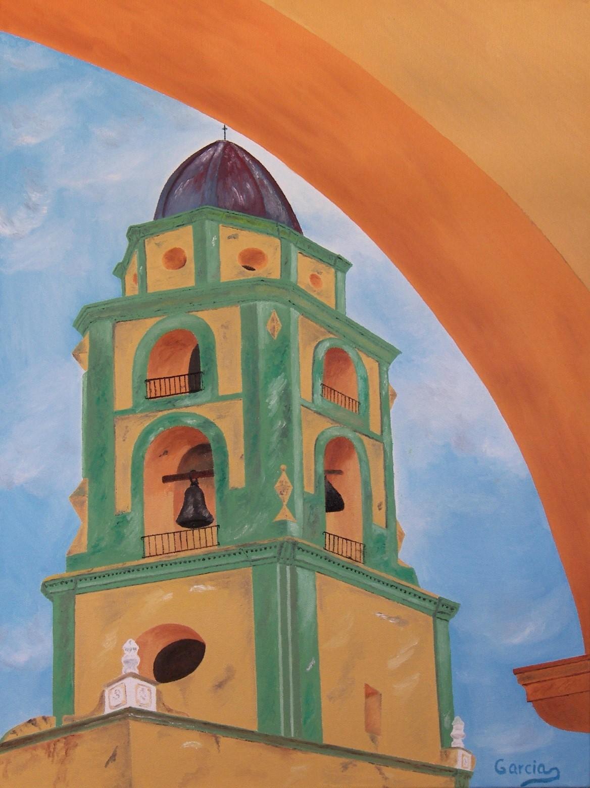 "Cuba – Trinidad Belltower 18"" x 24"""