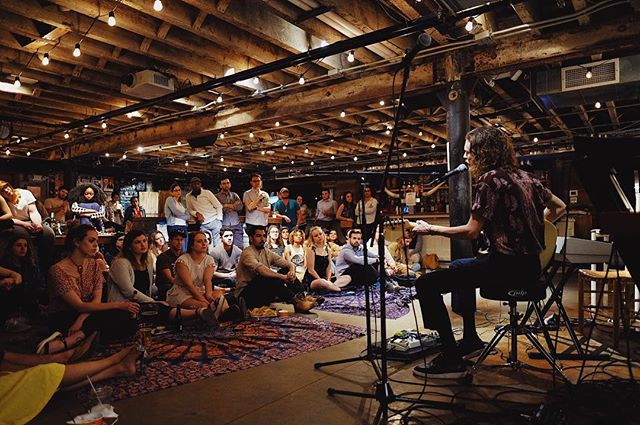 SOFAR SOGOOD // \\ Thanks so much to the crew of @sofardc for letting me do my thing. Met some amazing people last night that became fast friends. Onto Charlotte. Thanks to @joelscottrichard for this beautiful image.