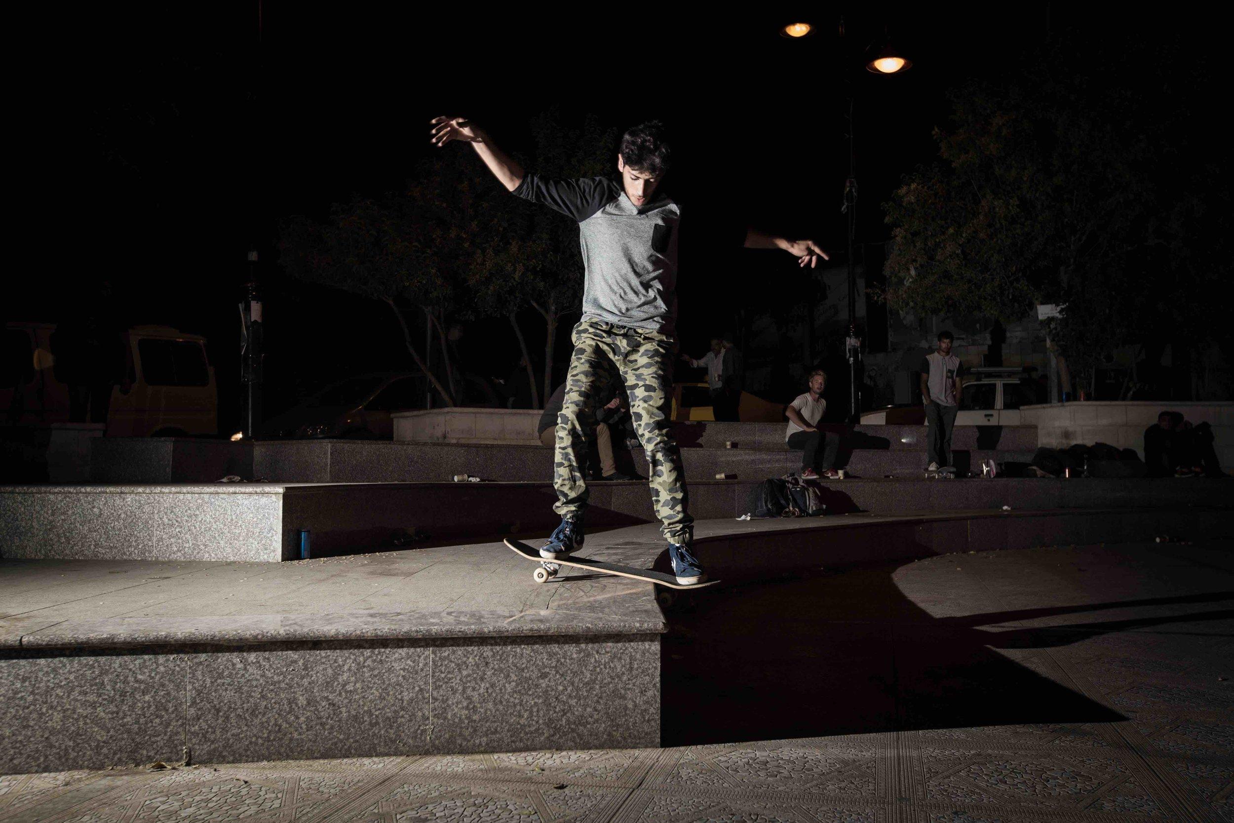 Aram Sabbah, Boardslide. Photo: Emil Agerskov