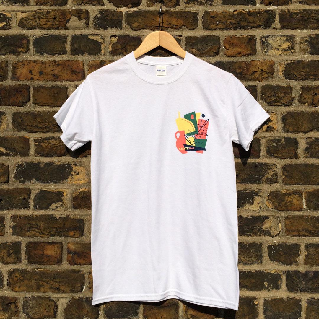 SkatePal x Daniel Clarke Tee - £15