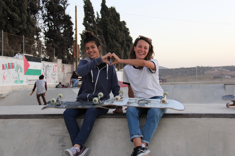 Ruby and Malak. Asira Al-Shamaliya, 2016.