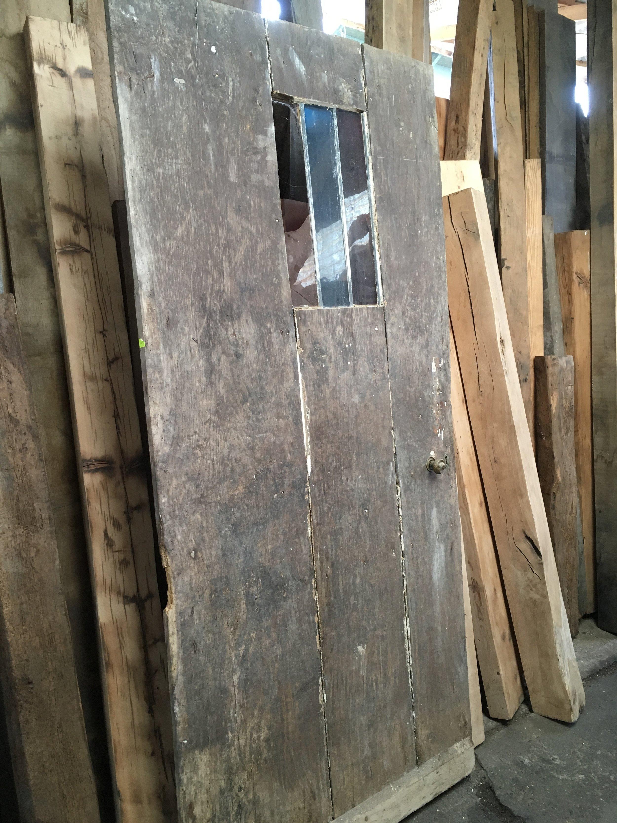The door before restoration