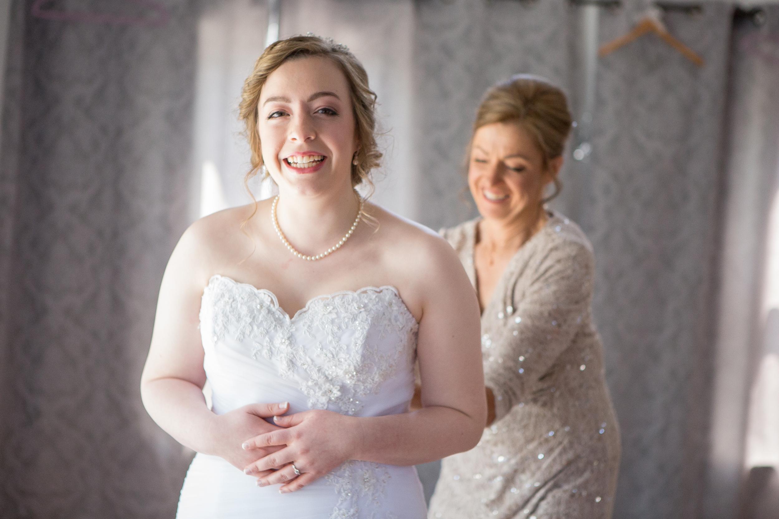 Rochester Wedding Photography - At Bridal Salon