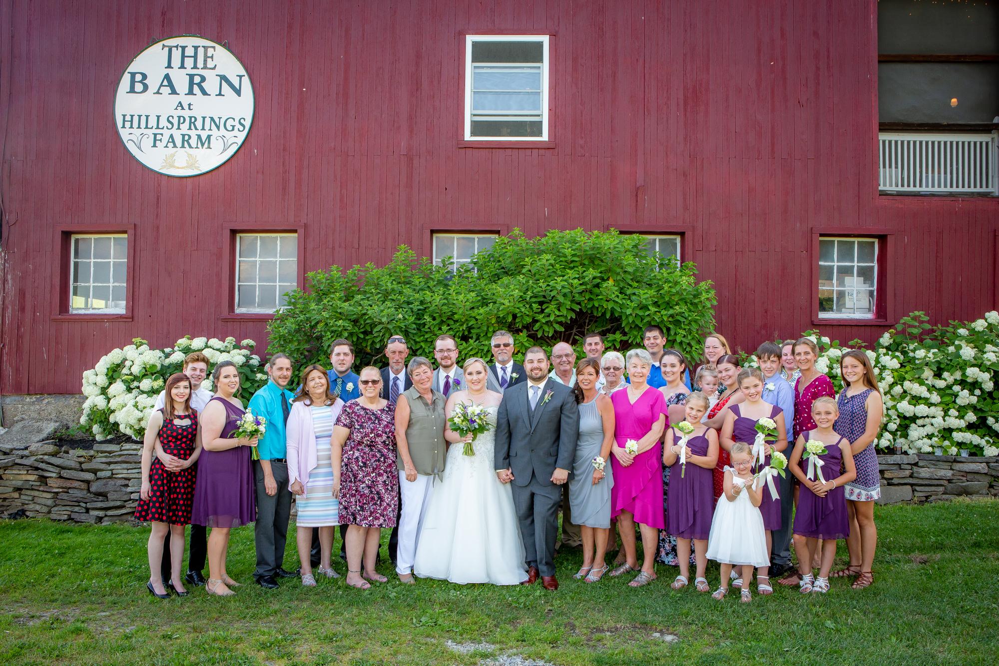The Barn at Hillsprings Farm in Addison, NY