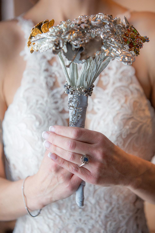 Syracuse Wedding - DIY Bride Bouquet