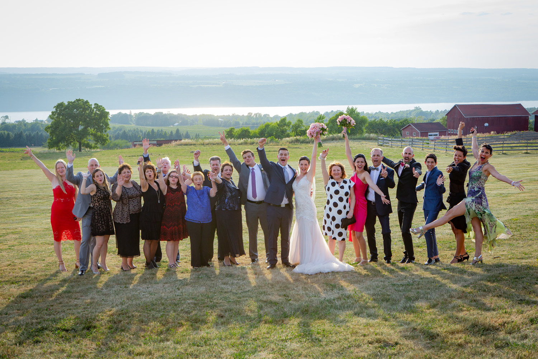 Seneca Lake Wedding - Logan Ridge in Hector, NY