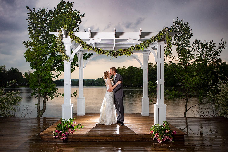 Sunset Wedding Photography - Pine Cradle Lake in Rome, PA  Photographer - Joe Hy