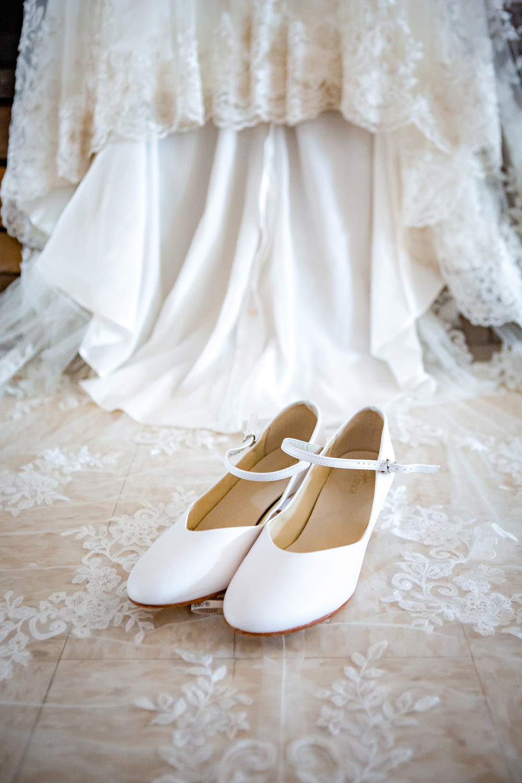 Bride's Shoes  Photographer - Joe Hy