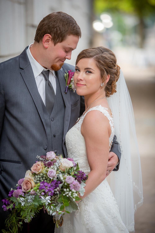 Bride and Groom Portrait  Photographer - Joe Hy