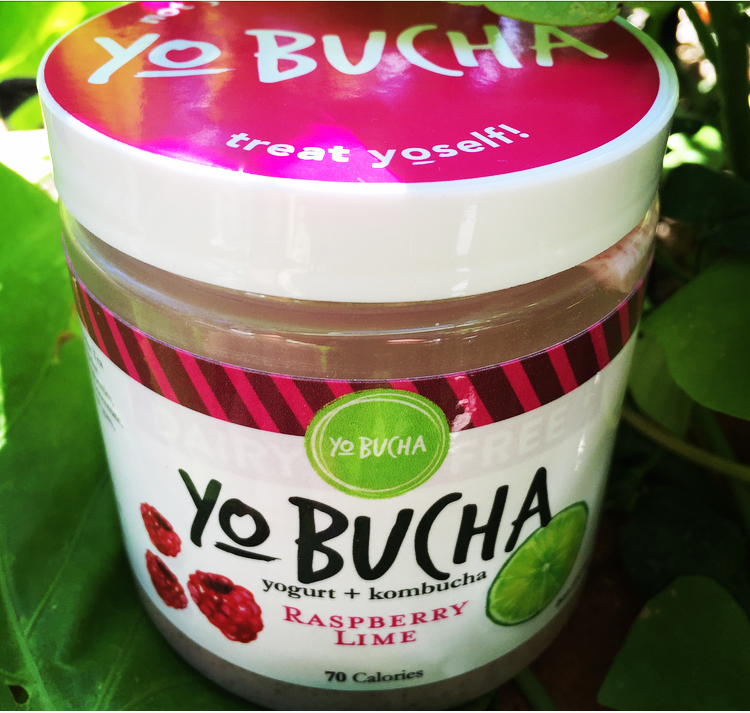 Raspberry LimeYo-Bucha - Bold, fresh, and oh-so-satisfying! This probiotic snack is bursting with flavor and vibrant color. Try it with strong black tea and toast for an well-rounded snack that is fun, sophisticated, and healthy all at once!