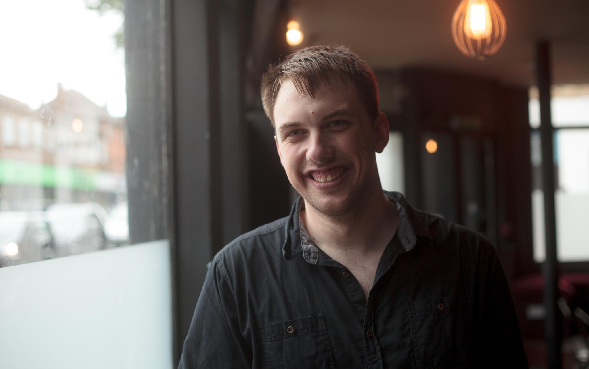 Jake Tucker, organiser of  Videobrains