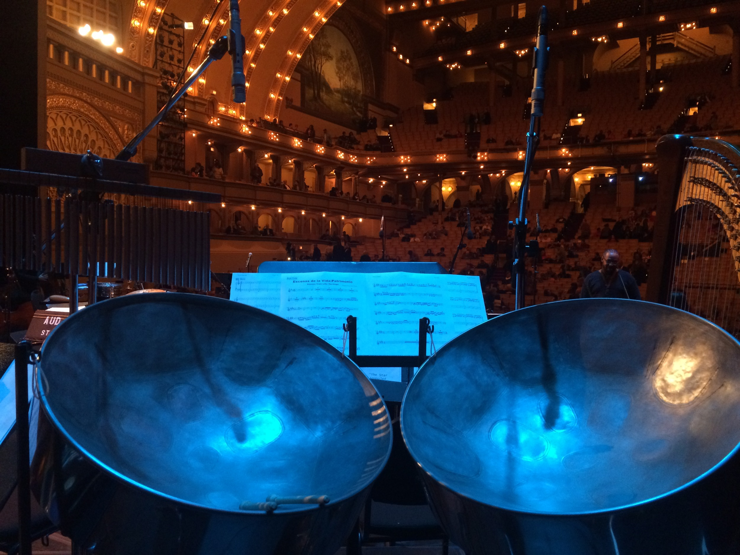 Mark had the privilege of performing with the Chicago Jazz Philharmonic at the Auditorium Theater, Chicago. Scenes of Cuba, Fall 2015.