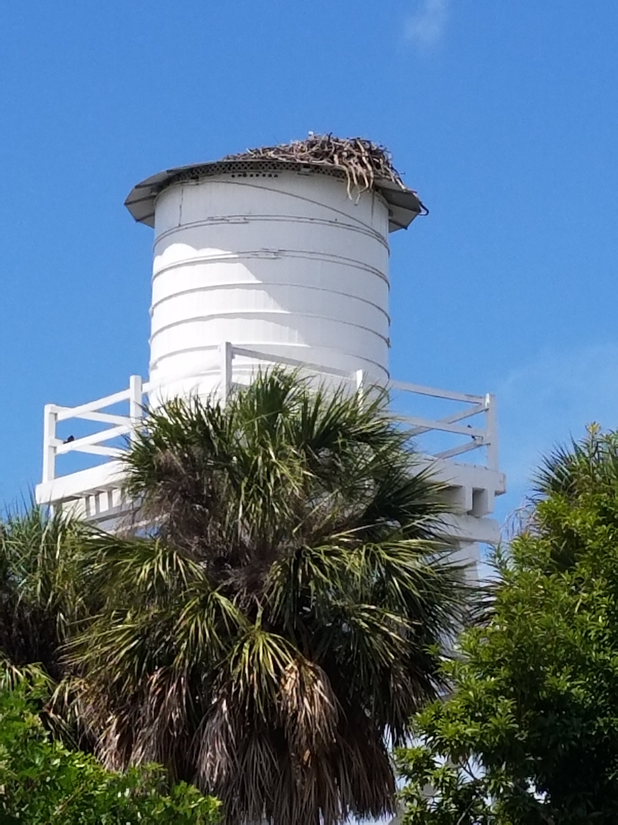 Water tower at Cabbage Key