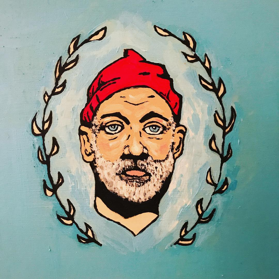 Seve Zissou Does Guyliner