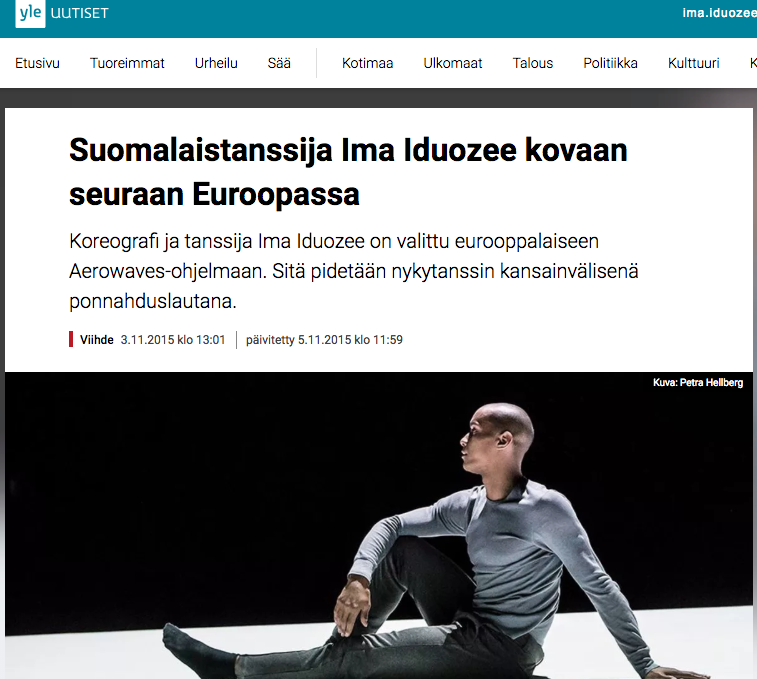 YLE article after This is the Title selection for Aerowaves 2015 circuit. 3.11.2015