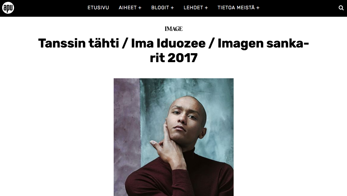 IMAGE interview 16.5.2017