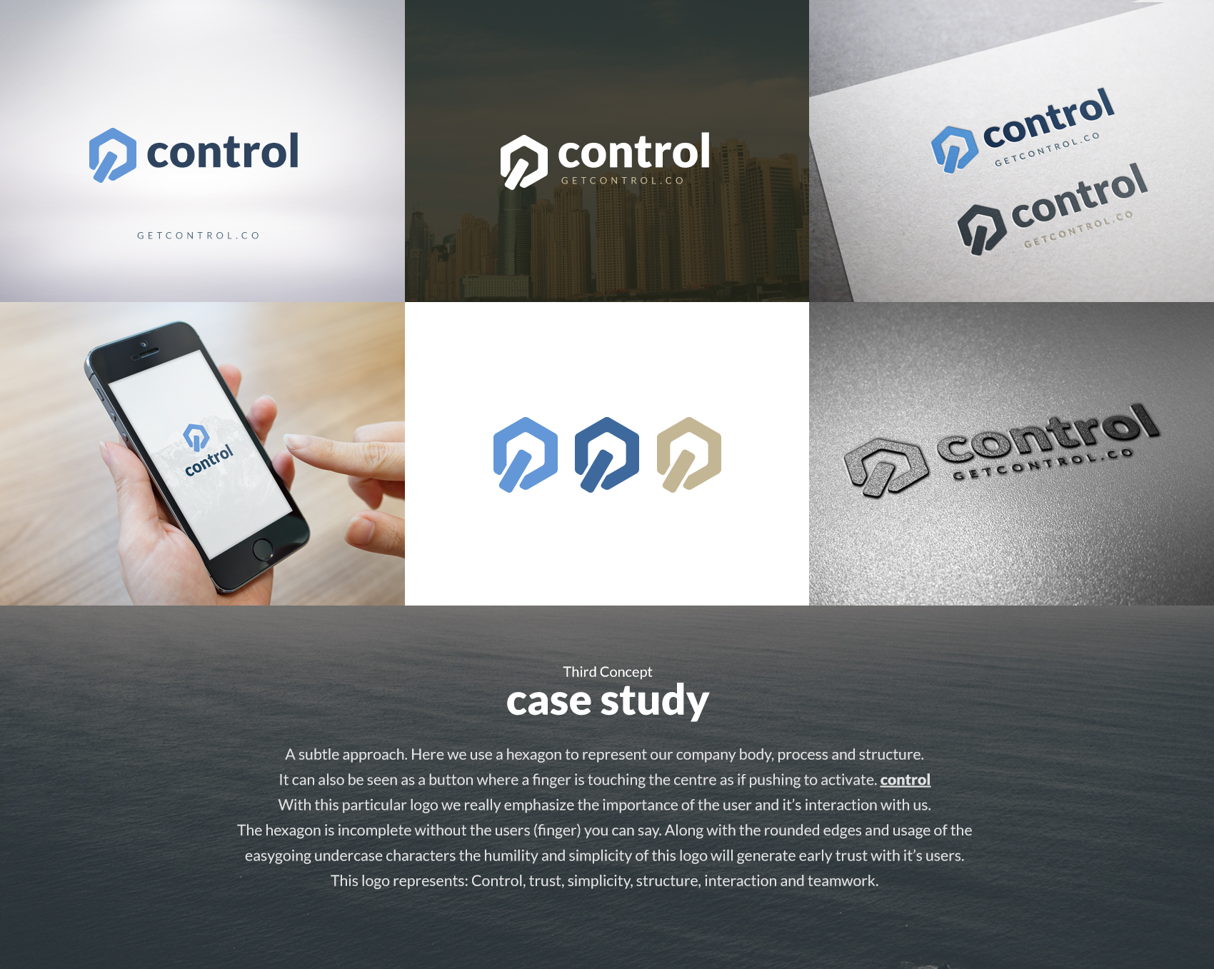 Branding provided by client