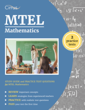 mtel math mathematics study guide practice test quesitons Massachusetts Tests for Educator Licensure teacher test prep
