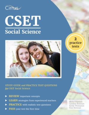 cset social science study guide practice test questions test prep teacher certification California Subject Examinations for Teachers ctc