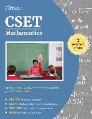 cset mathematics study guide practice test questions math test prep teacher certification California Subject Examinations for Teachers ctc