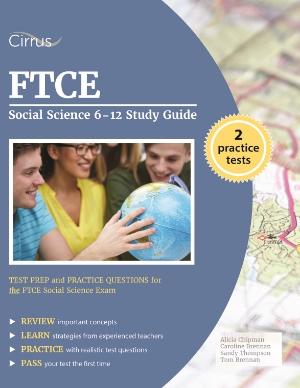 ftce social science study guide practice test questions 6-12 ets teacher certification test prep Florida Teacher Certification Examinations