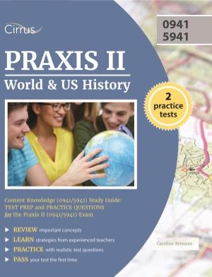Praxis II World and U.S. History