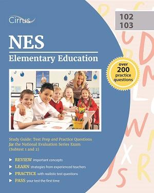 NES National Evaluation Series Elementary education 102 103
