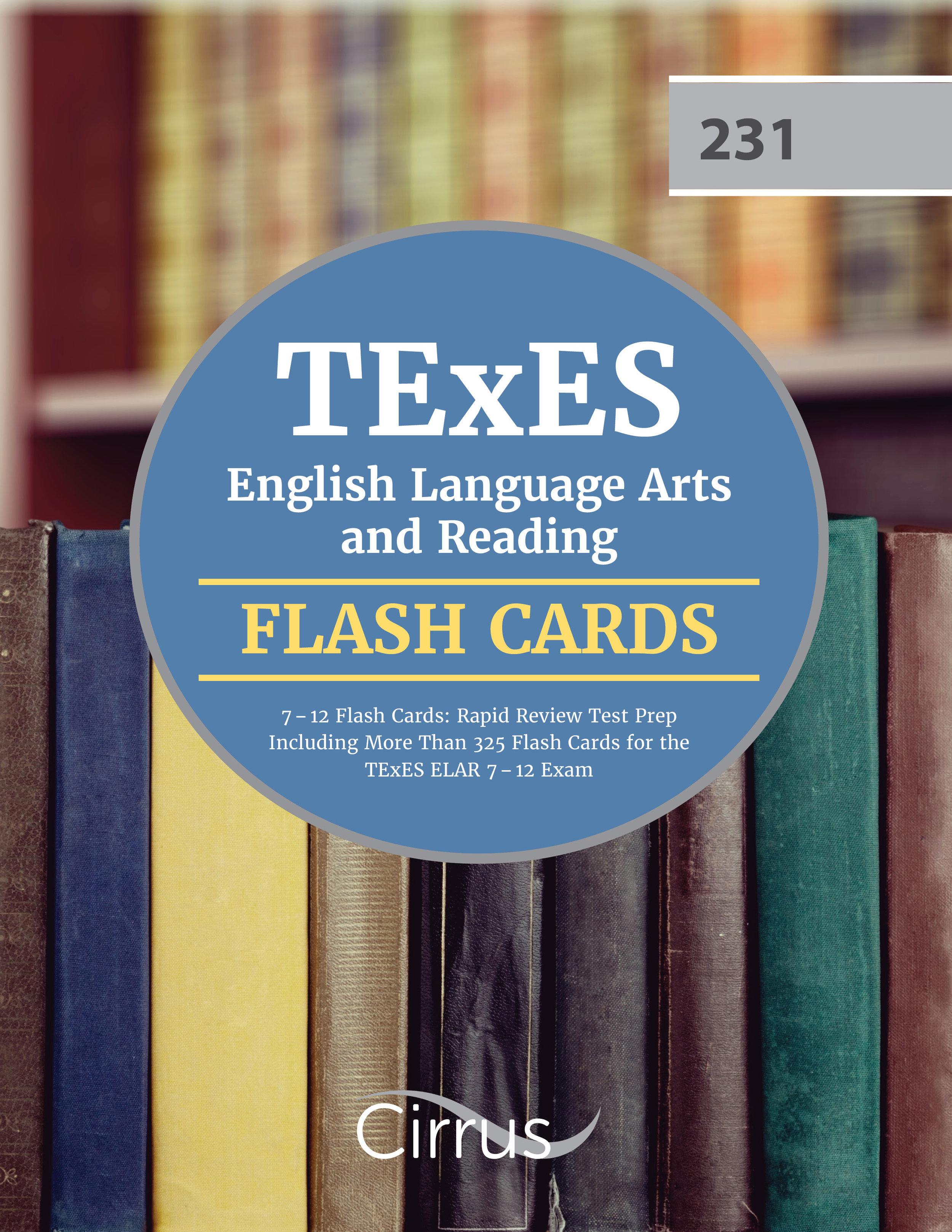 TExES ELA Flash Card Book