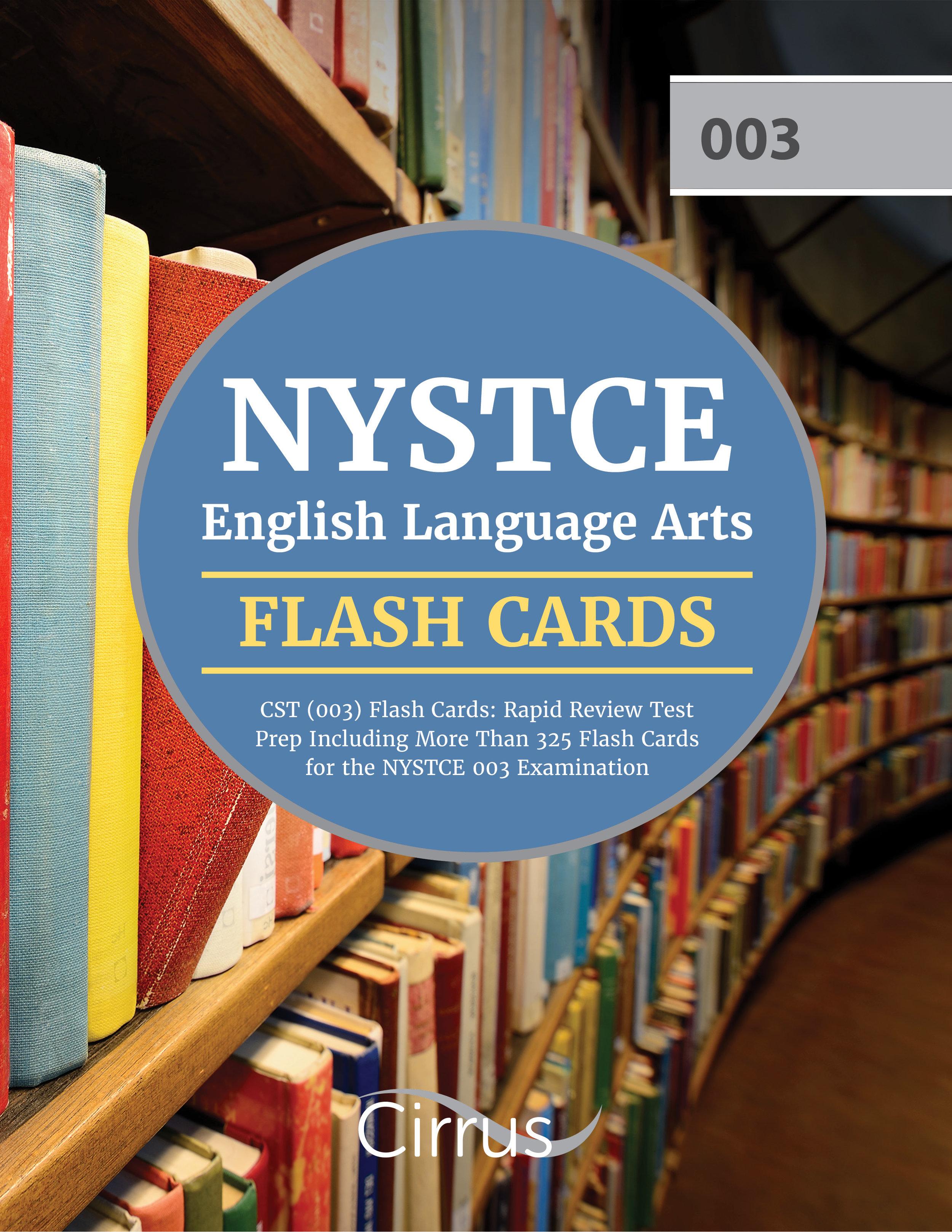 NYSTCE ELA Flash Cards