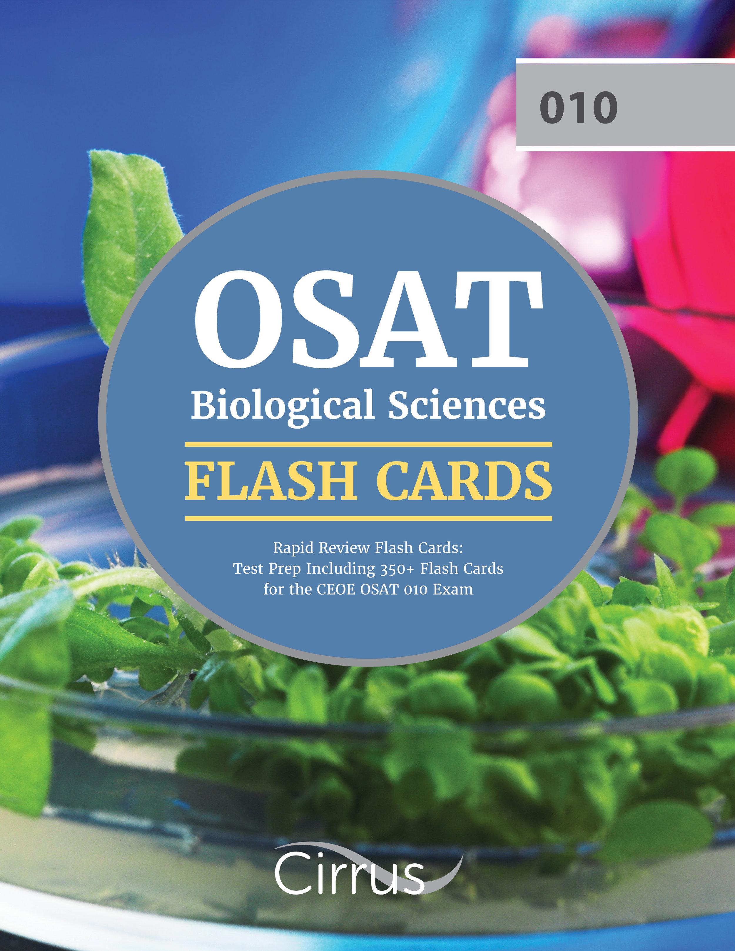 OSAT Biological Sciences Flash Cards