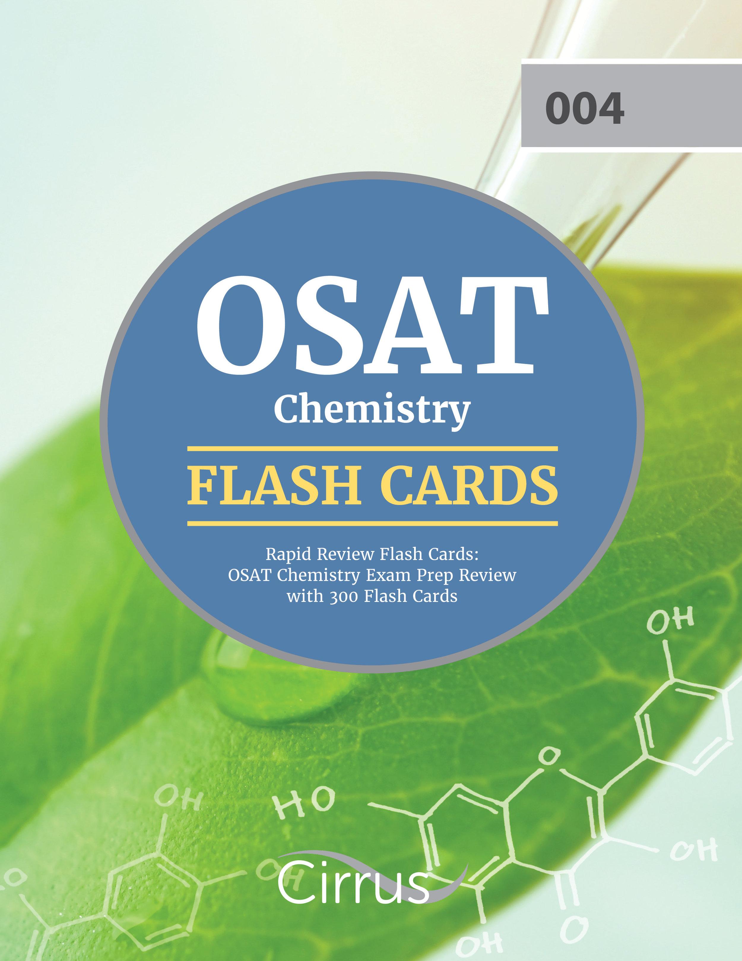 OSAT Chemistry Flash Cards