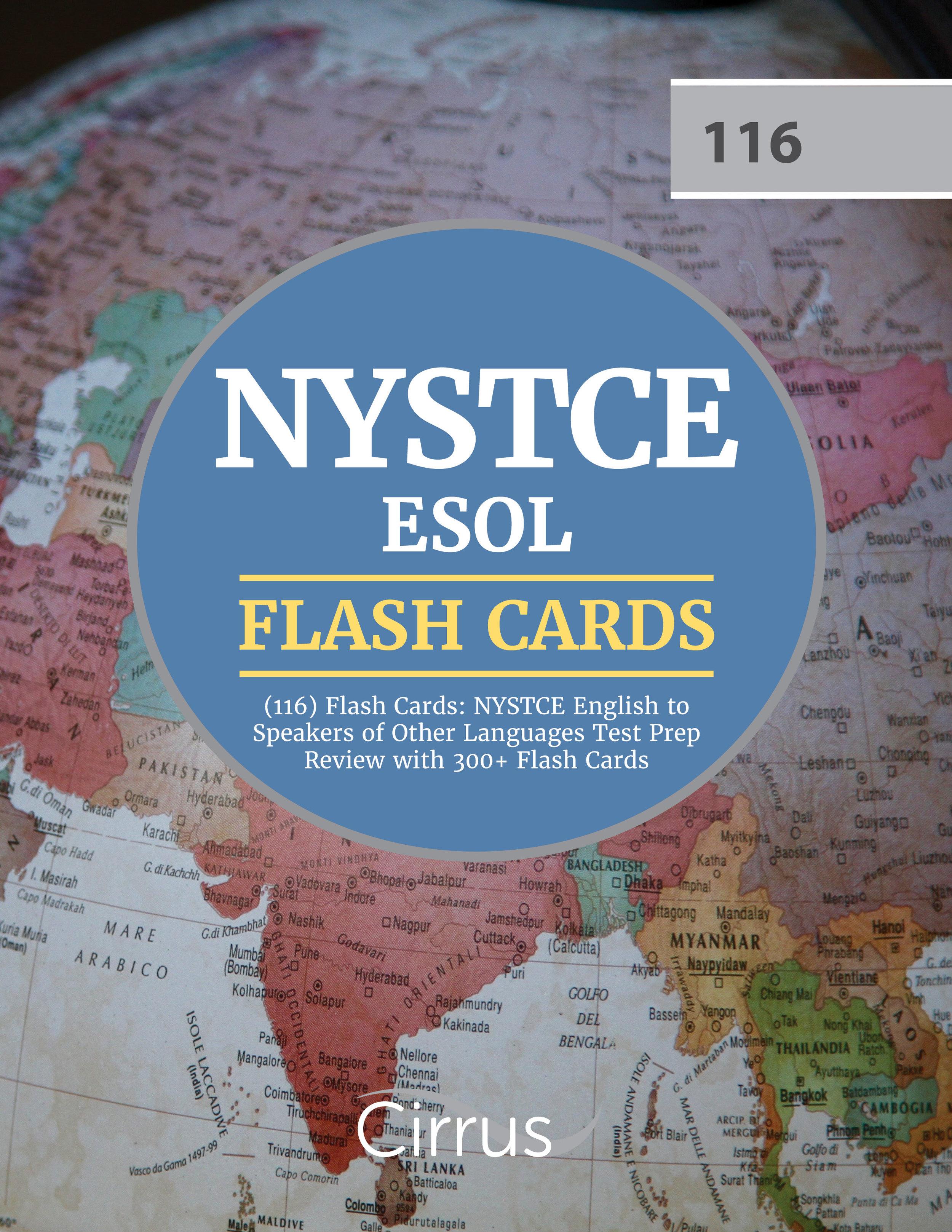 NYSTCE ESOL Flash Cards