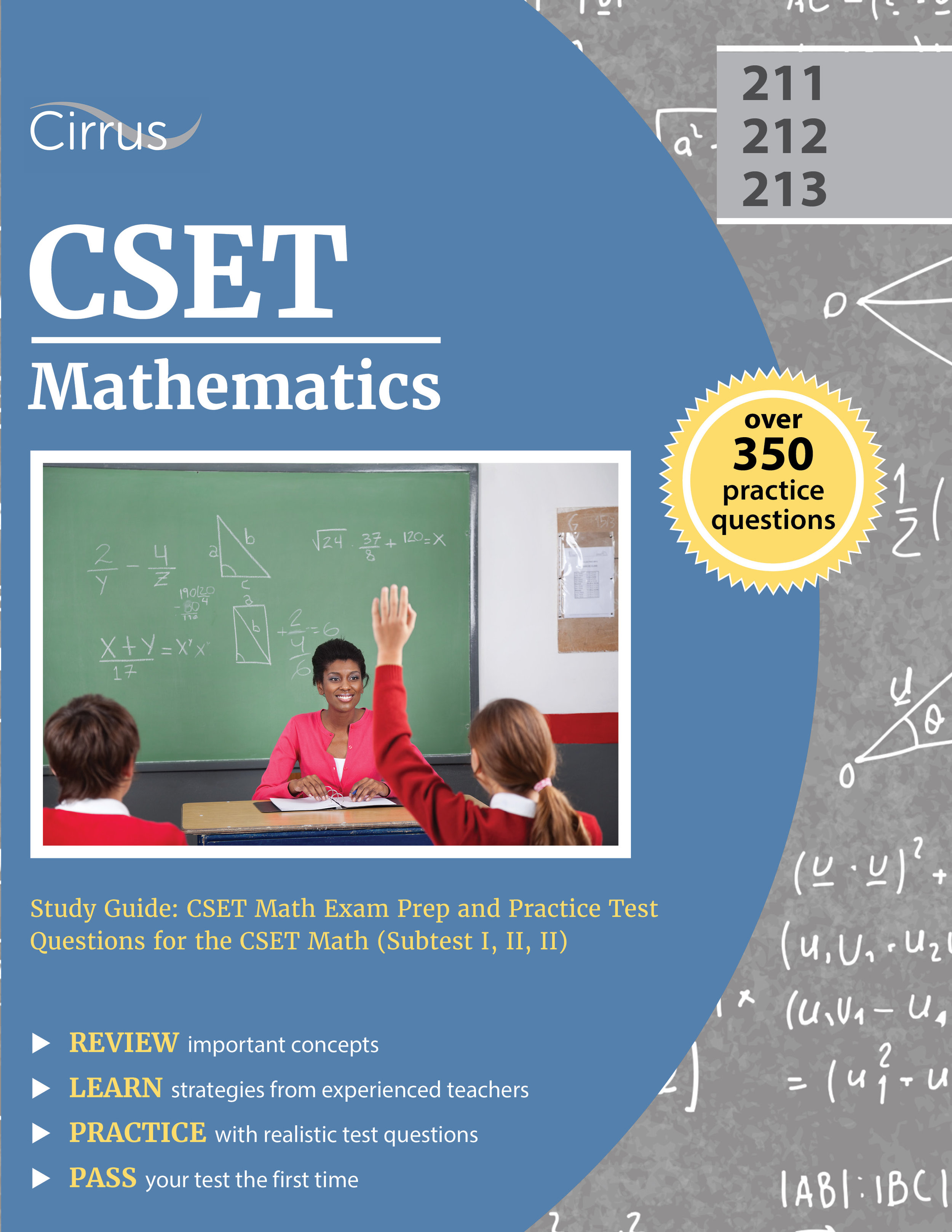 CSET Mathematics Study Guide Math Exam Prep and Practice Test Questions