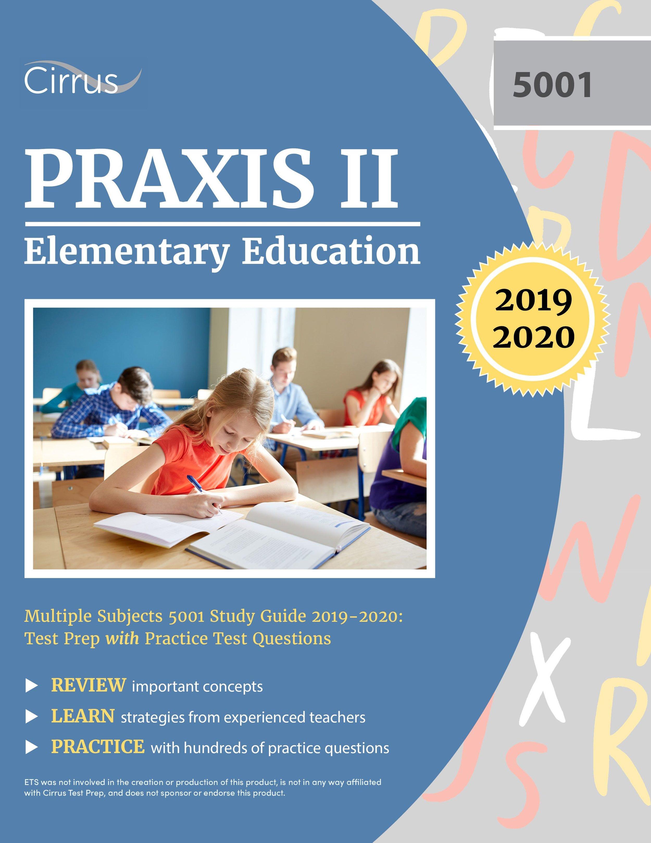 Praxis Elementary Education 5001 — by Cirrus Test Prep