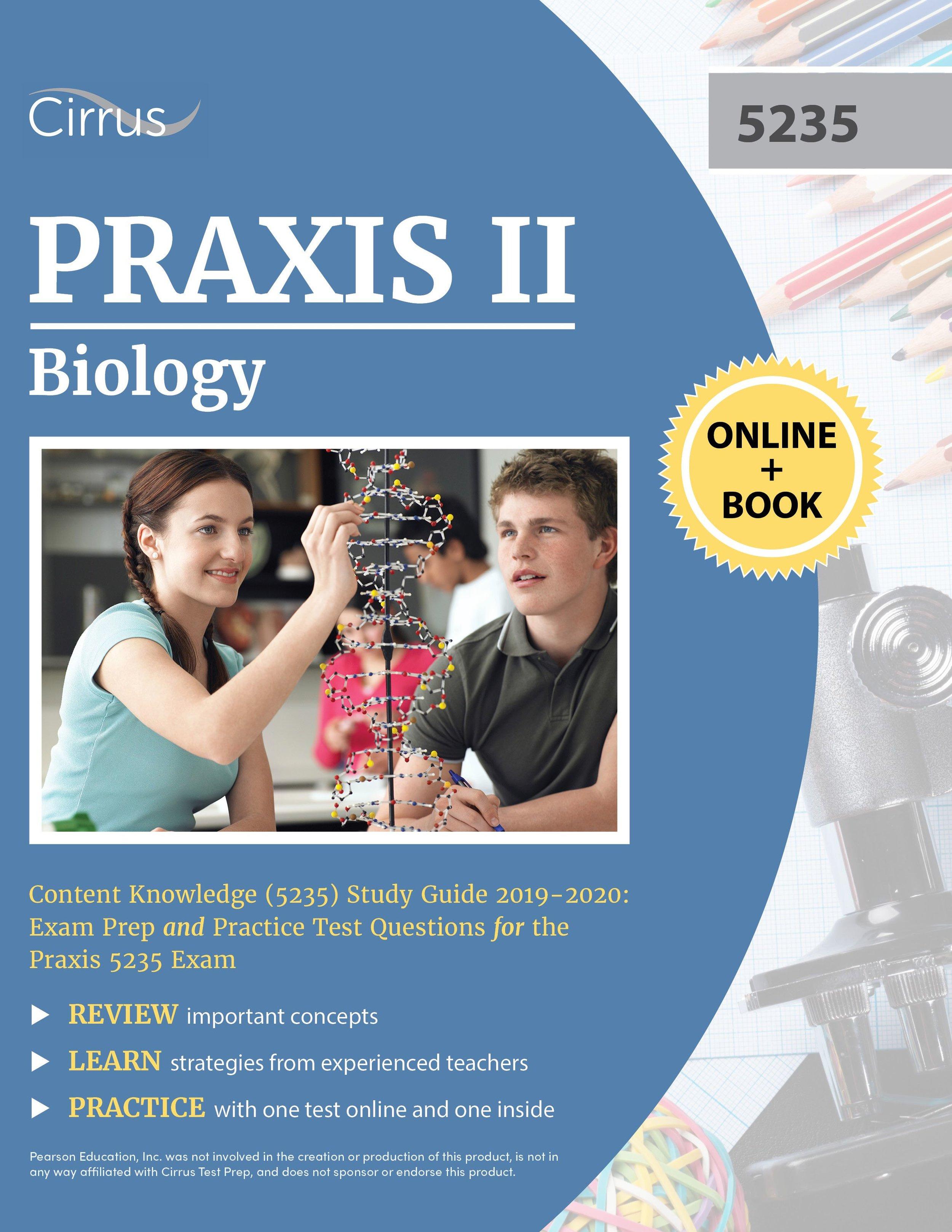 Praxis II Biology 5235 Study Guide 2019 – 2020