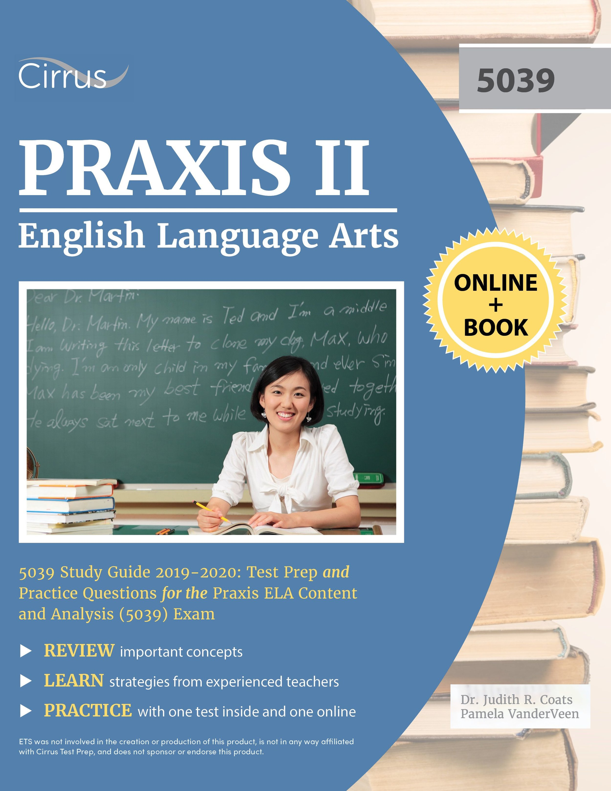 Praxis English & Language Arts 5039 Study Guide 2019 – 2020