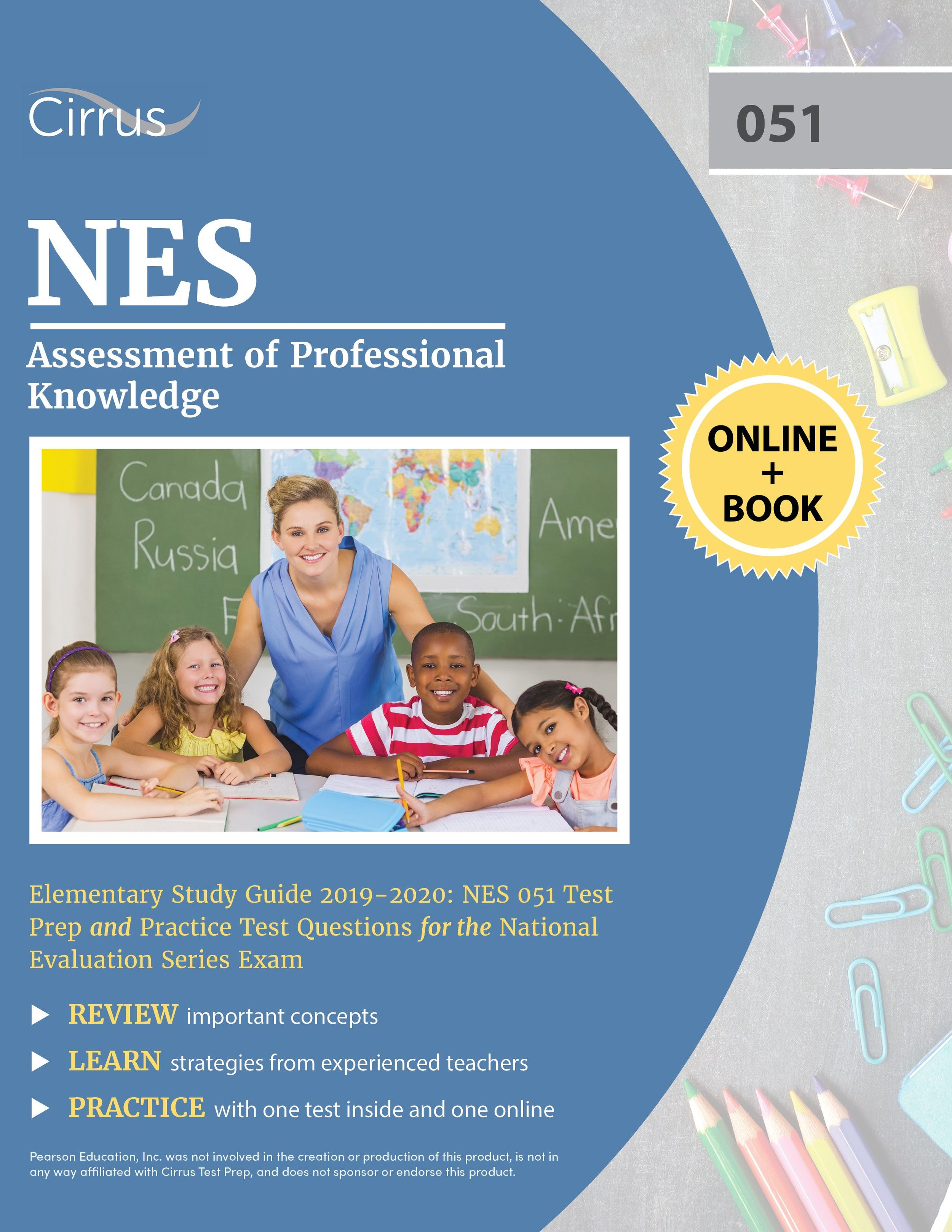NES Assessment of Professional Knowledge 051 Elementary Study Guide 2019 – 2020