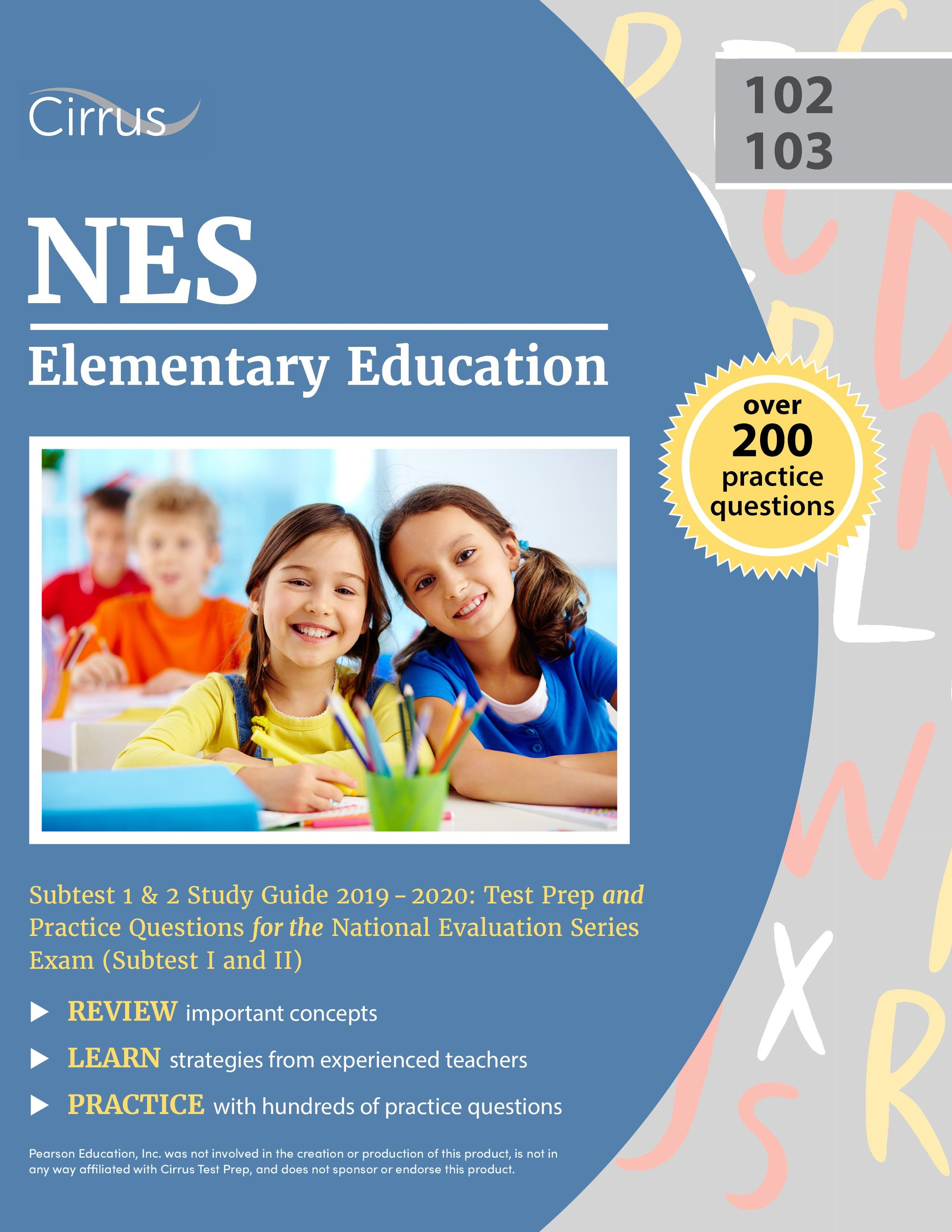 NES Elementary Education 102 & 103 Study Guide 2019 – 2020