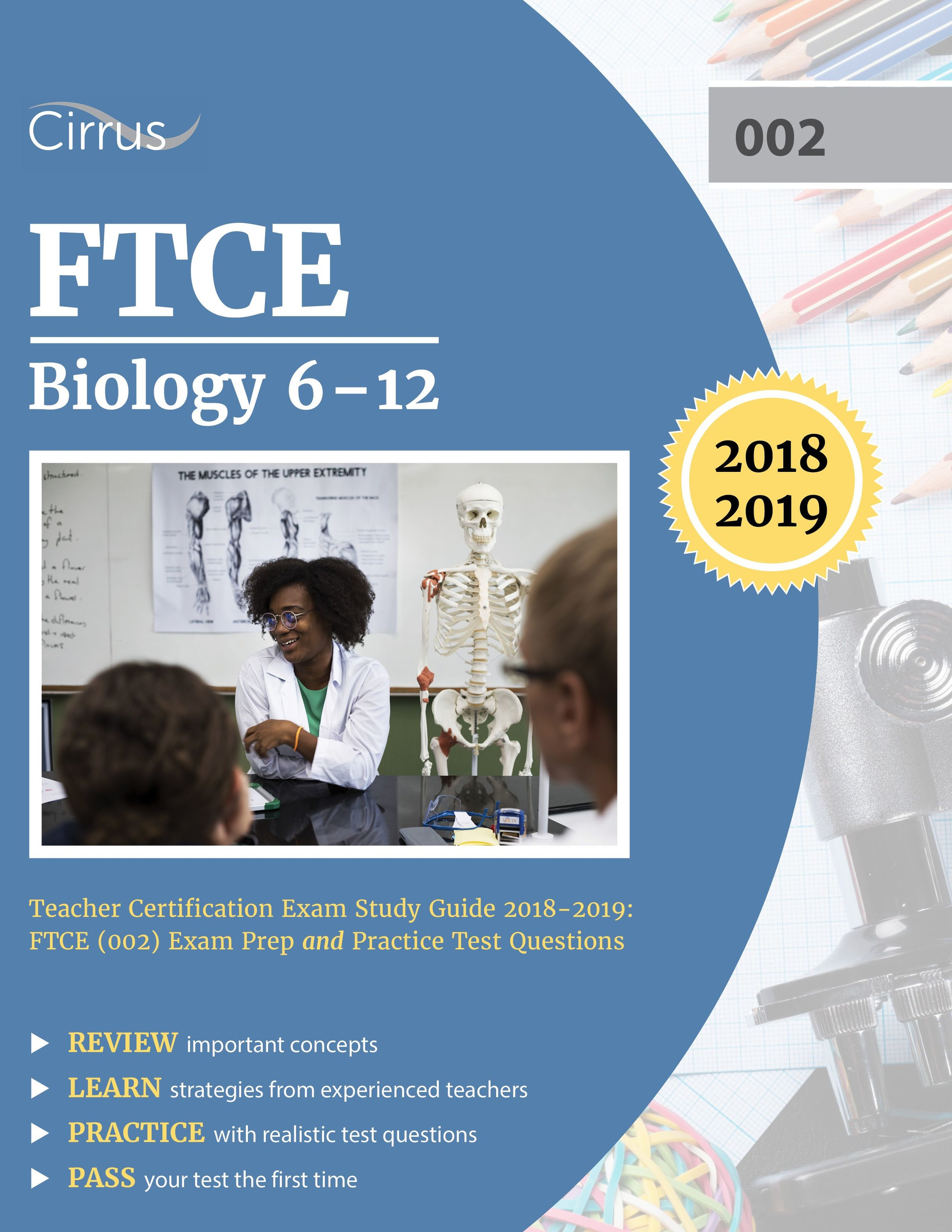 FTCE Biology 6    –    12 (002) Study Guide  2018 – 2019