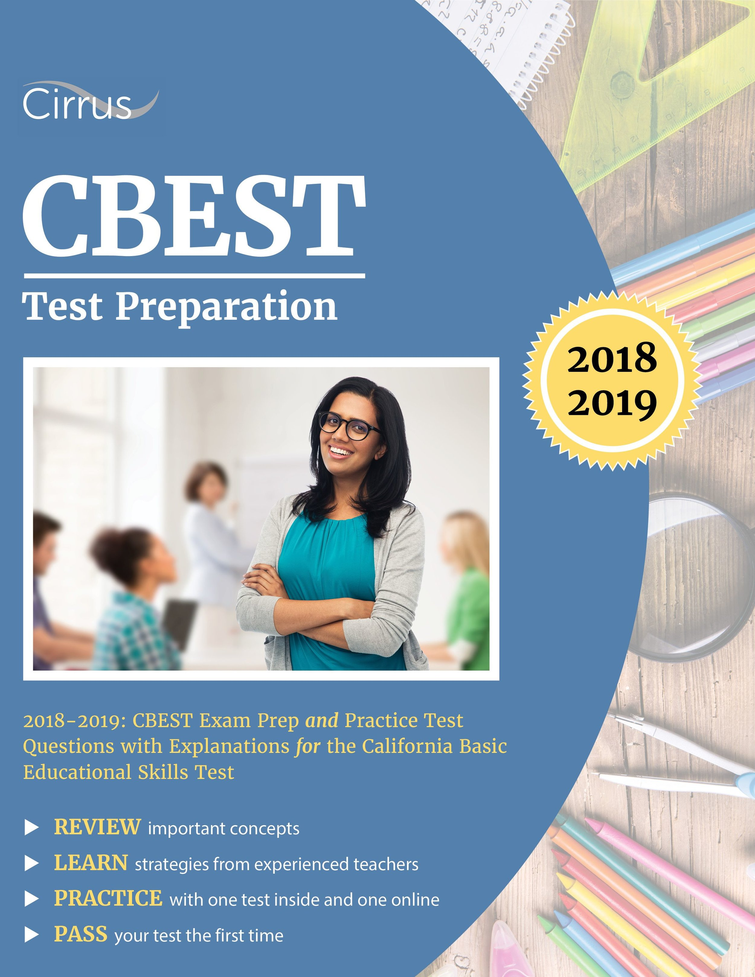 CBEST Basic Skills Test Preparation Study Guide 2018 – 2019