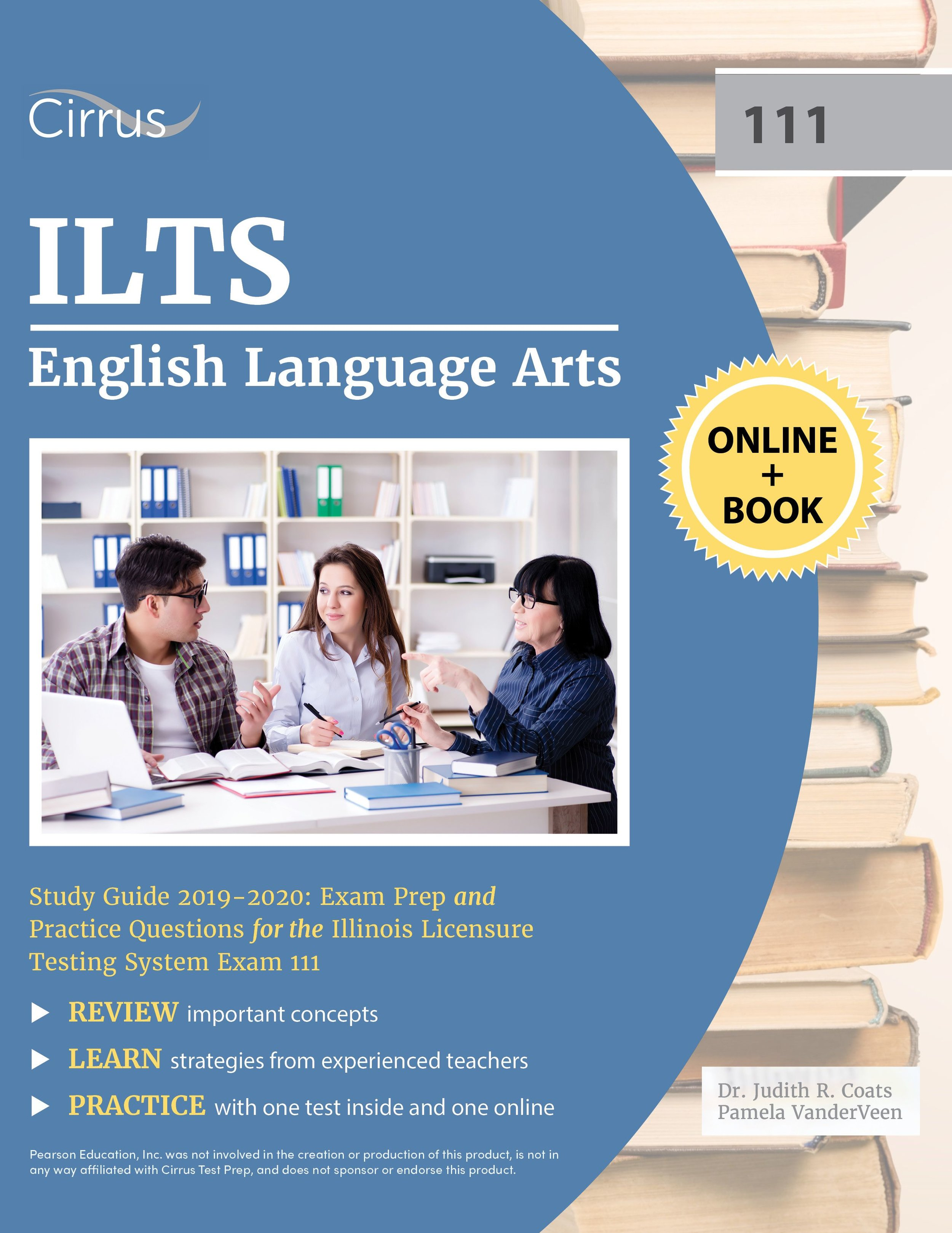 ILTS English Language Arts (111) Study Guide  2019 – 2020
