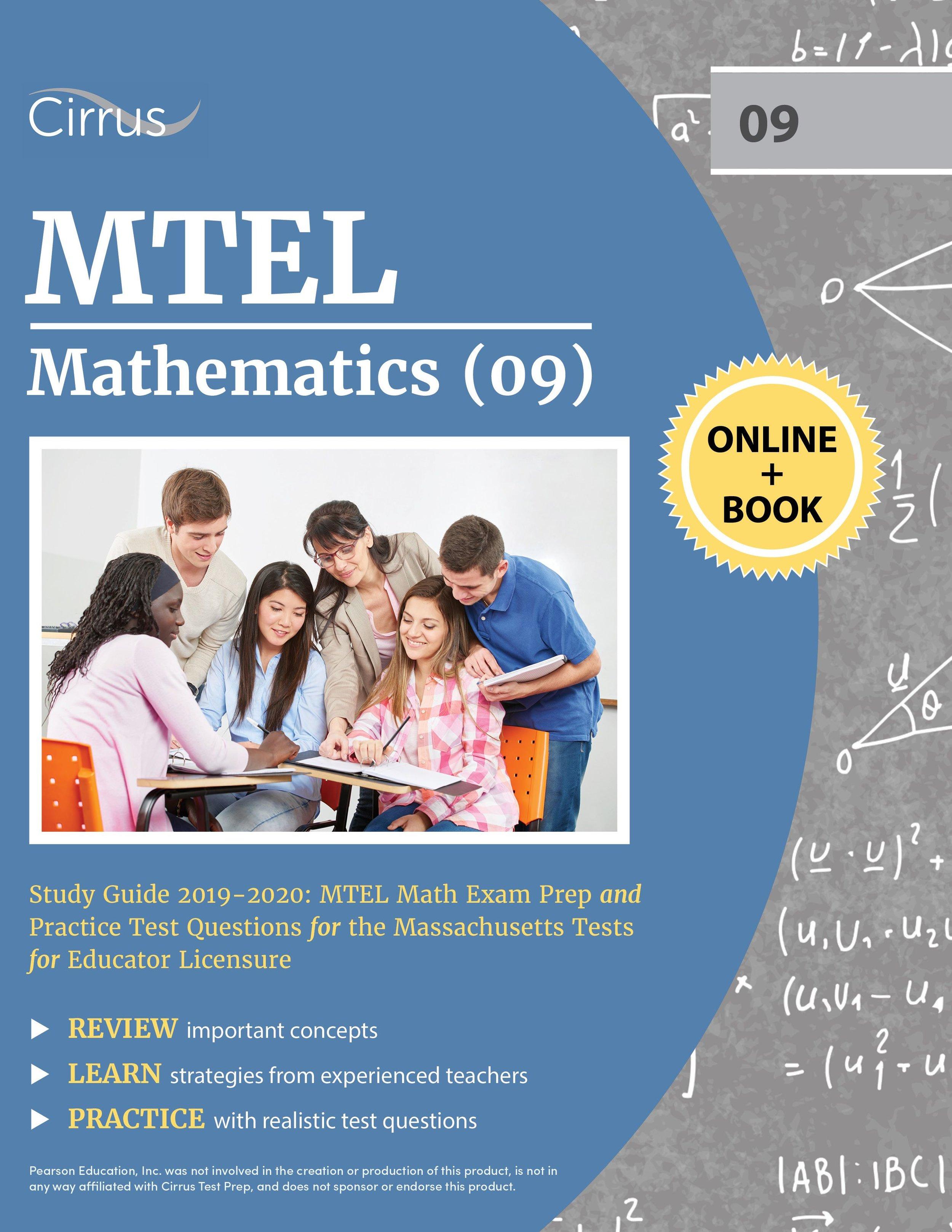 MTEL Mathematics (09) Study Guide 2019 – 2020