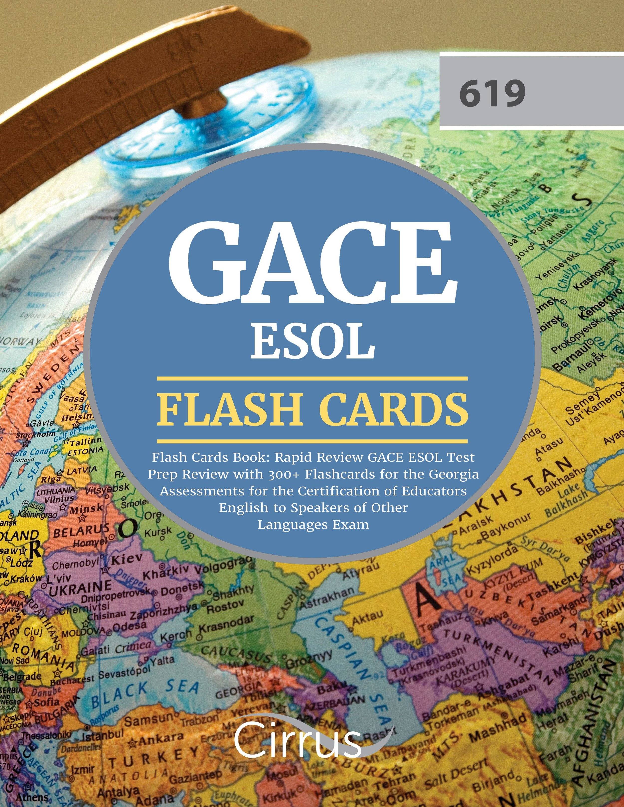 GACE ESOL Flash Cards Book