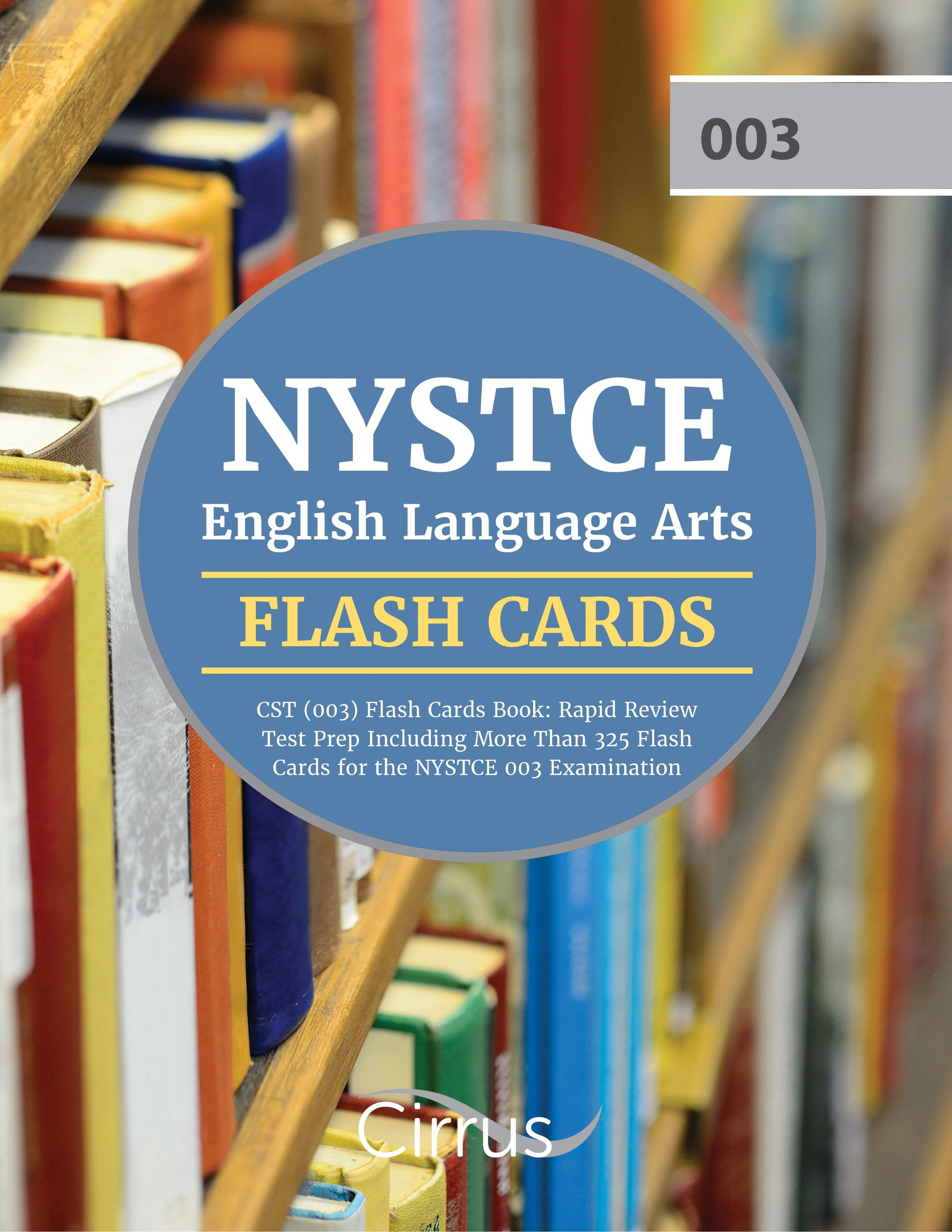 NYSTCE English Language Arts (003) Flash Cards Book