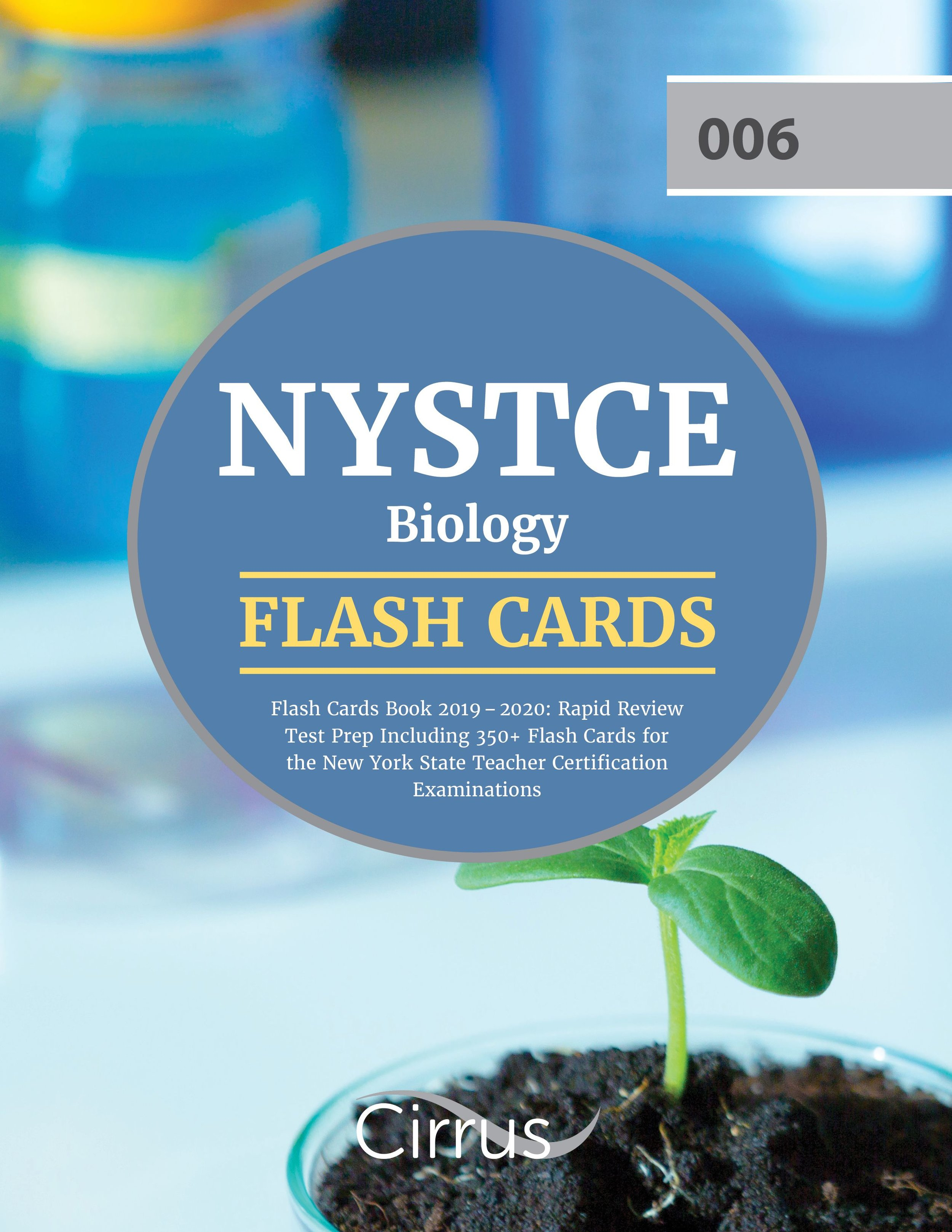 NYSTCE Biology (006) Flash Cards Book  2019 – 2020
